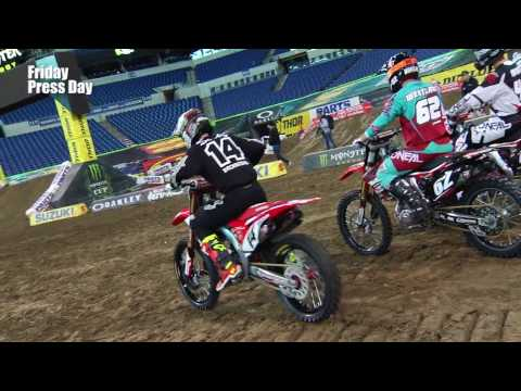 Cole Seely Interview - Indianapolis - Race Day LIVE - 2017
