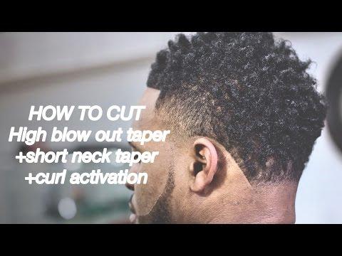 Haircut Tutorial: How to Cut High Blowout Taper