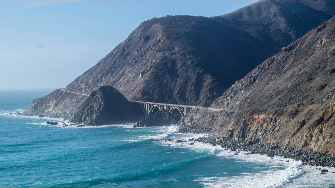 pacific coast highway route 1 california road trip youtube