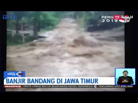 [Video Amatir] Derasnya Banjir Bandang Terjang Desa Kedawung, Jawa Timur - SIS 24/03
