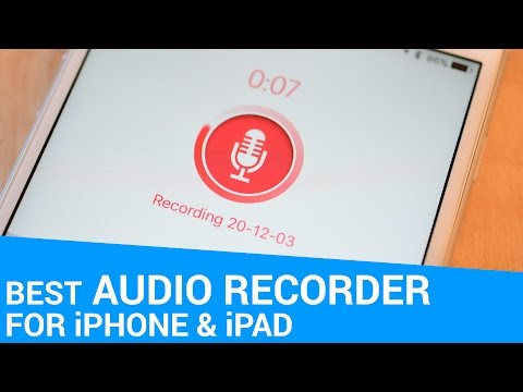 Best Audio Recorder Apps for iPhone & iPad