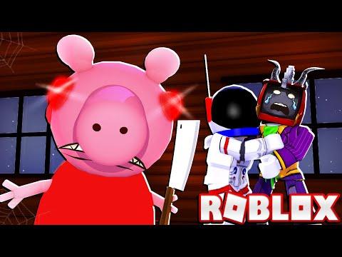 AN EVIL PIG TRAPS US IN ITS LAIR!! - ROBLOX PIGGY