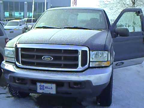 2004 Ford F250 Super Duty 4x4 Manual