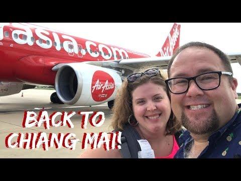 Chiang Mai Moving Day...Again | Thailand Travel Vlog | Air Asia