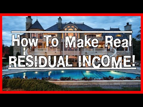 Best Residual Income Opportunities - How To Choose The Best Ones!