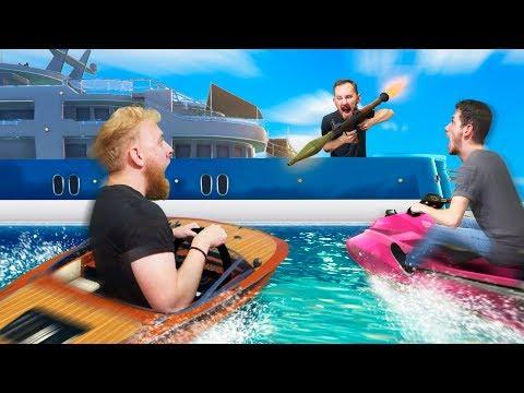 Defend the Yacht Challenge! | GTA5