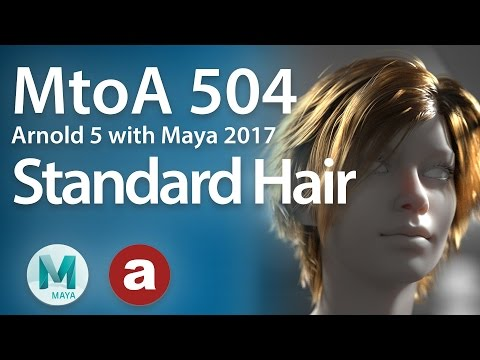 how to create hair in maya 2017