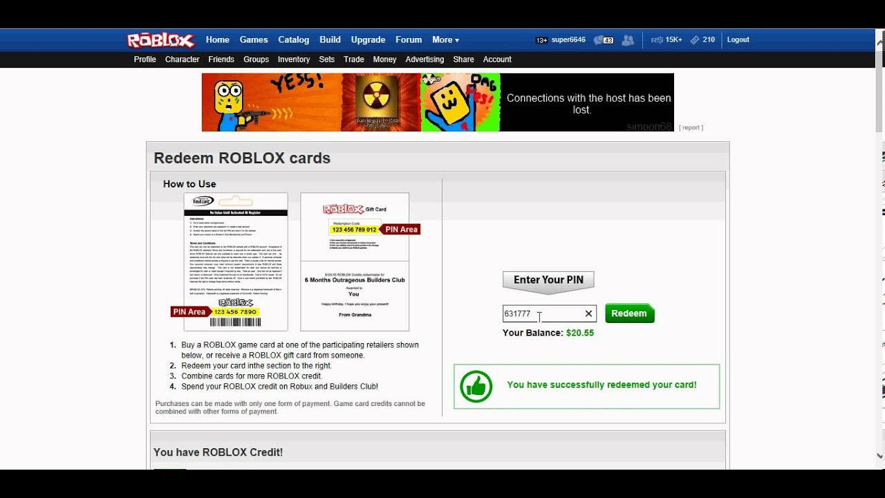 roblox gift card redeem how to redeem roblox card codes aderichie co 9194