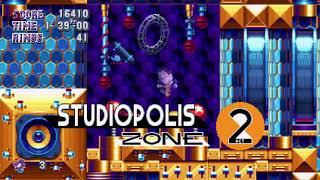 Sonic Mania Mod - Blaze Mania #2