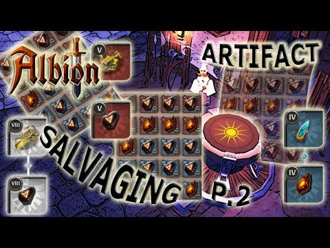 Printing So Much Silver I Had To Get A Mammoth! | Artifact Salvaging P2 | Albion Online