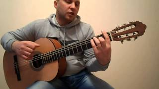 Уроки гитары.Виктор Цой-Генерал.