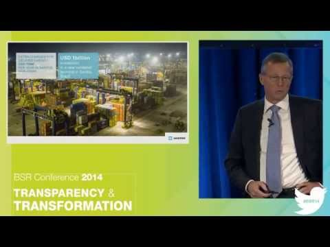 BSR Conference 2014 - Nils S  Andersen, CEO do grupo A.P. Moller Maersk