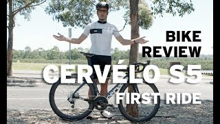 Bike review – Cervélo S5: part 4, The First Ride