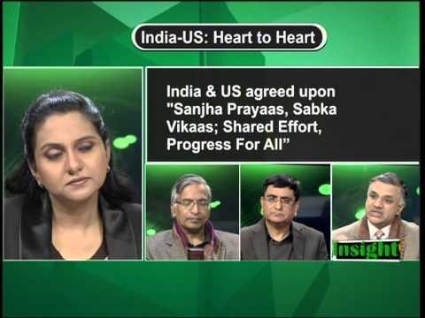 Prof. Sachin Chaturvedi speaking on India-US Relations at Loksabha TV