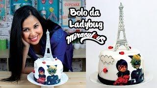 Bolo da Ladybug   Como Fazer Bolo da Ladybug   How To Make a Ladybug Cake   Cakepedia