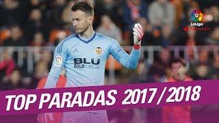 TOP Paradas LaLiga Santander 2017/2018