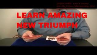 Free Magic Tricks: New Minor Major Triumph Tutorial