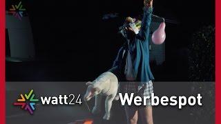 watt24 - Ihr interaktiver Online-Shop für professionelles Licht - Werbespot
