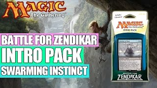 MTG - Battle for Zendikar Intro Pack : Swarming Instinct (Blue / Green)