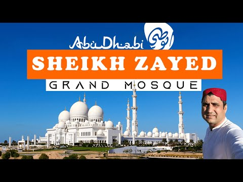 Sheikh Zayed Grand Mosque Abu Dhabi  Travel Vlog & Guide
