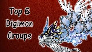 Top 5 Digimon Groups