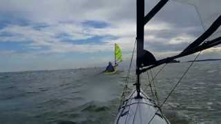 Kayak Sailing with Falcon Sails Thumbnail