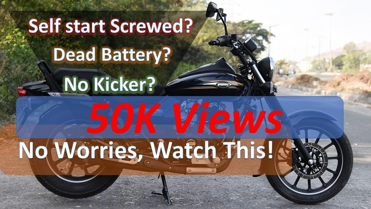How To Start Bike Without Battery How To Start Bike Without