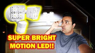 SUPER BRIGHT Motion LEDs!!! (5000K) (SANSI) (Short Video)