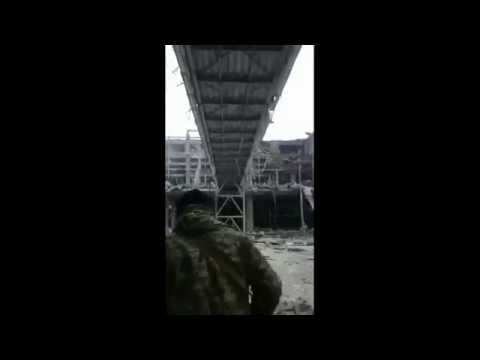 Chechen fighters in Ukraine airport
