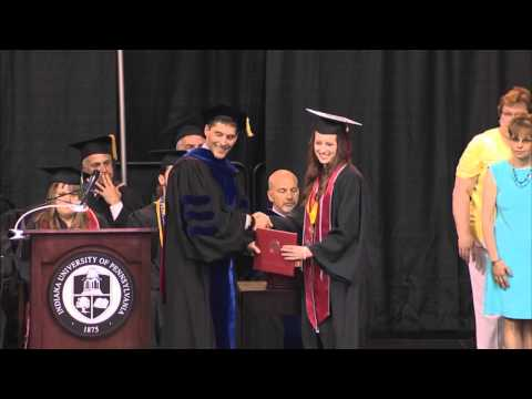 IUP May 2015 Spring Commencement -- Full Morning Ceremony