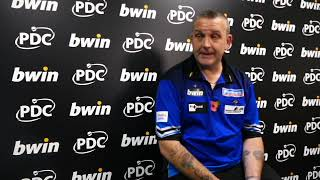 Grand Slam of Darts 2018 - Mark McGeeney ecstatic with his first victory in the PDC