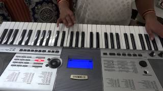ajeeb dastan hai yeh played by MANISHA RAGHAV on piano