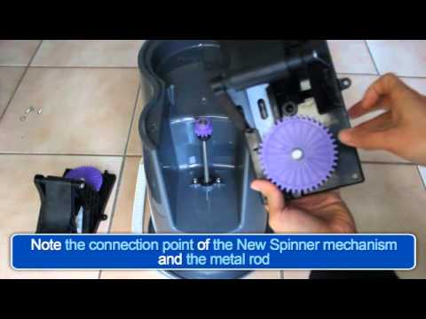 roto mop replacement parts. spin mop - learn how to replace the white magic spinner mechanism roto replacement parts