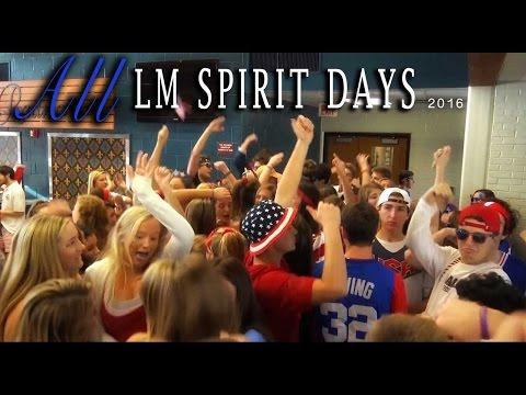 RADNOR'S LM WEEK 2016: All Spirit Days
