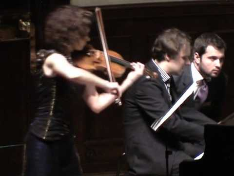 Schumann Violin Sonata No 2 - Mov I, Deborah Marchetti and Stefan Wirth - Wigmore Hall London 2010