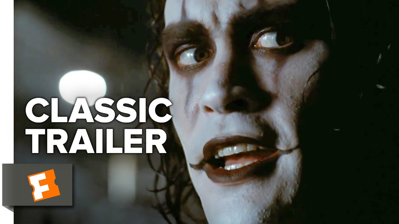 the crow 1994 official trailer brandon lee movie hd