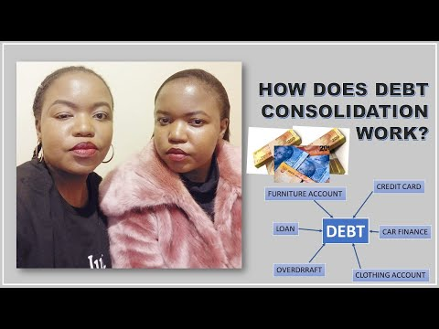 HOW DOES DEBT CONSOLIDATION WORK? SOUTH AFRICAN YOUTUBERS