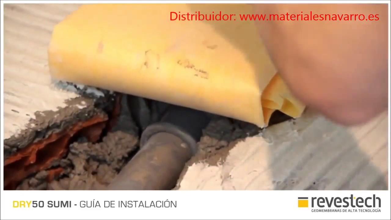 Hacer plato de ducha de obra impermeabilizado - YouTube