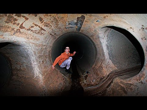 EXPLORING THE HAUNTED TUNNEL *Terrifying*