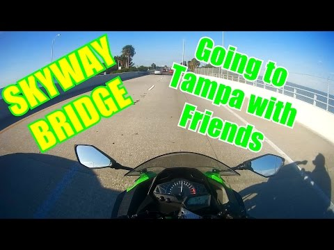 Motovlog: Skyway Bridge, Friends, Tampa
