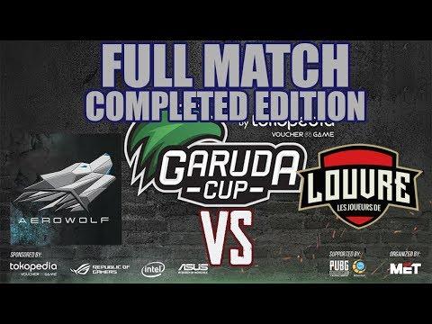 AEROWOLF VS LOUVRE MATCH KE-3   GARUDA CUP FINAL