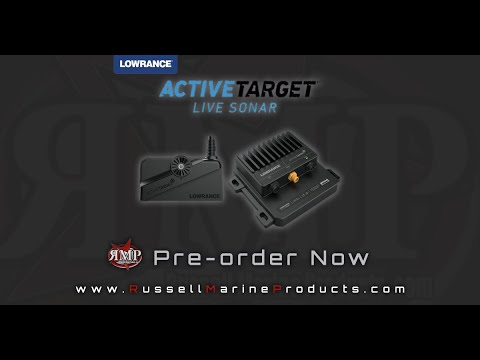 LOWRANCE ACTIVE TARGET LIVE IMAGING!!