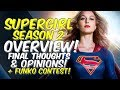 Supergirl SEASON 2 OVERVIEW! Full Review! + Contest!