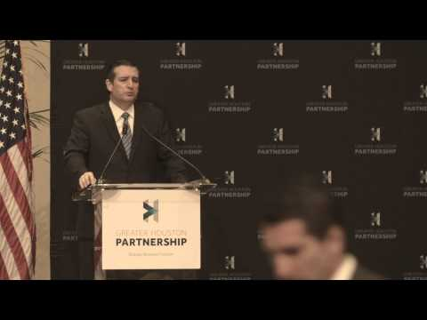 Sen. Cruz Delivers State of the Senate Address to the Greater Houston Partnership