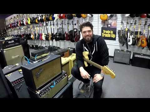 Music Go Round Wilkes Barre demos used Fender 1966 Reverb Unit