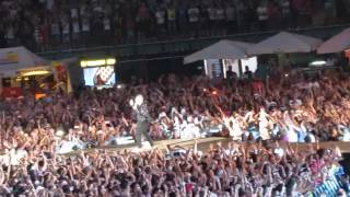 ROBBIE WILLIAMS -Intro & Let me Entertain You & Monsoon & Not Like the Others Live San Siro Milan