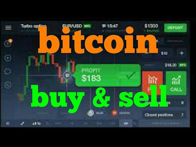 cara indėlis iq parinktis melalui bitcoin