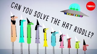 Can you solve the prisoner hat riddle? - Alex Gendler thumbnail