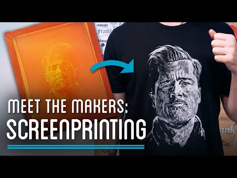 From Image To Cloth, How To Screen Print