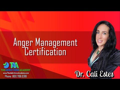 Anger Management Certification